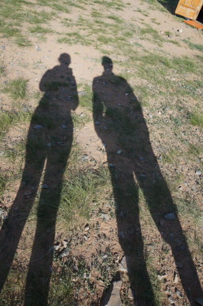 mongolia couple expat travel relationship shadows