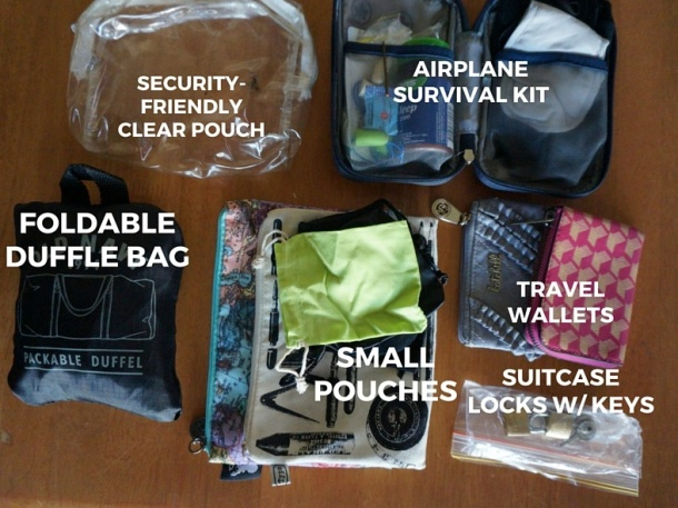 Pouches & small bags.