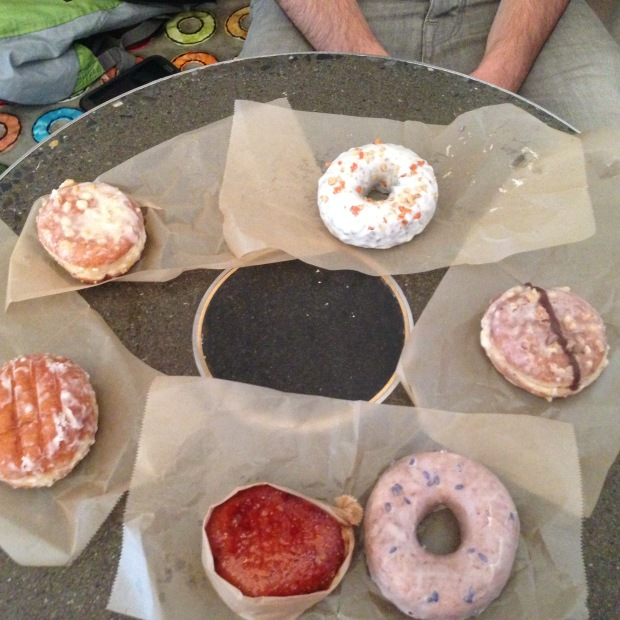 Donuts in Chelsea at the unparalleled Donut Plant.