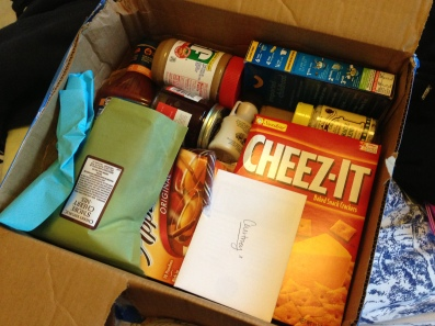 My friends do send the greatest care packages, though.