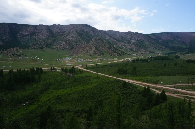 gorhi terelj national park mongolia travel camping hike