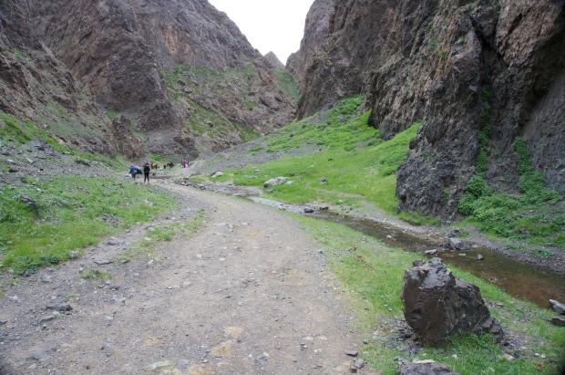 ice valley mongolia travel gobi desert hike travel