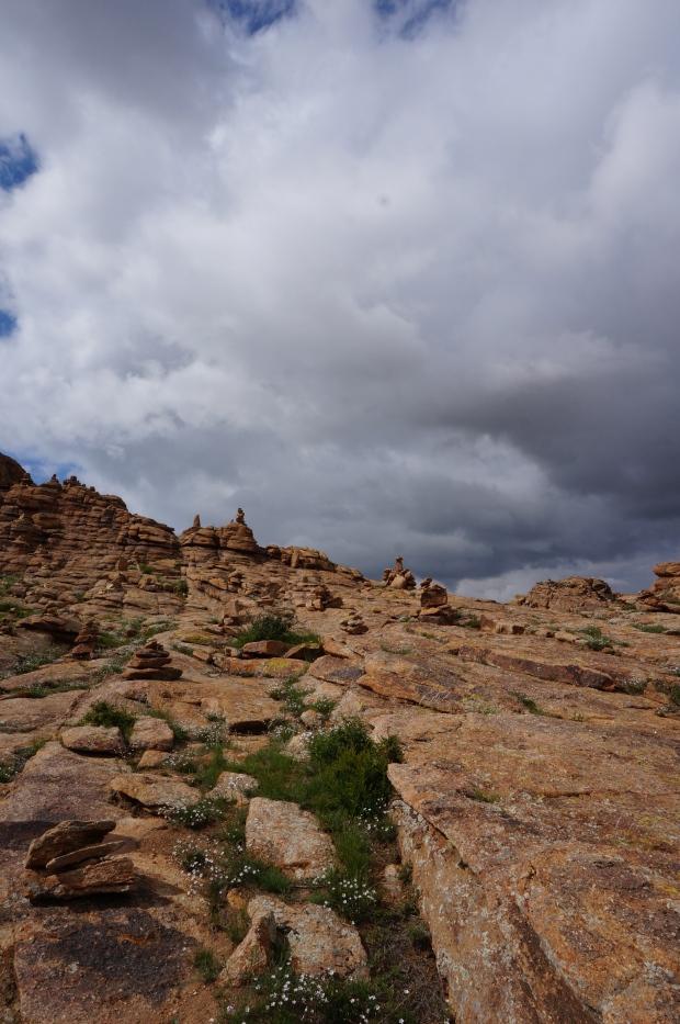 mongolia travel rock formation gobi desert tour