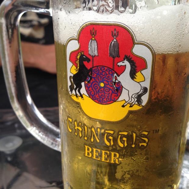 mongolia ulaanbaatar restaurant beer drink travel